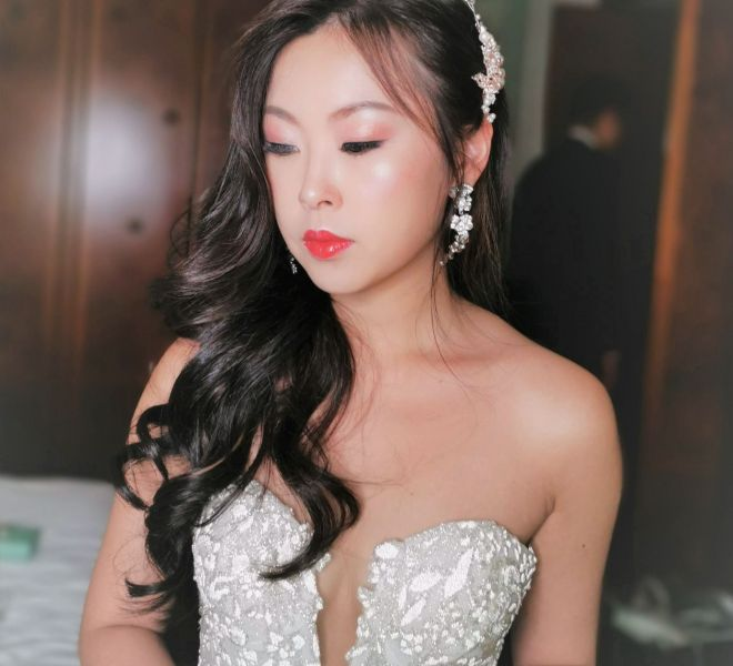 Bridal Makeup On Actual Day Wedding
